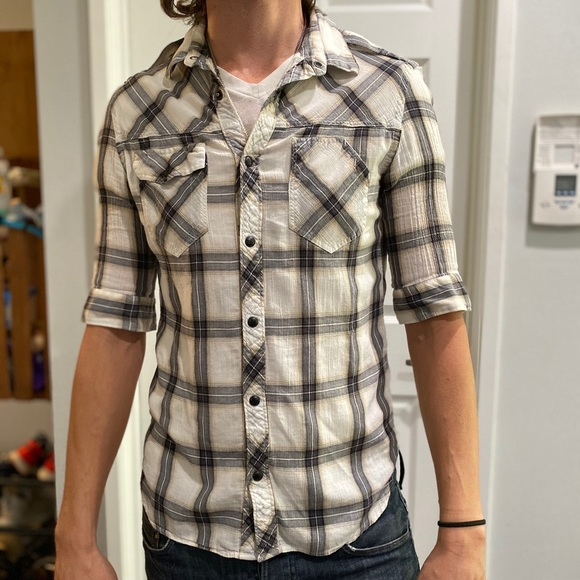 All Saints Other - All Saint Short Sleeve Western Style Shirt